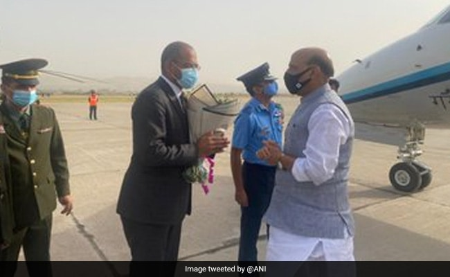 Rajnath Singh Begins 3-Day Visit To Dushanbe To Attend Shanghai Cooperation Organisation Meet