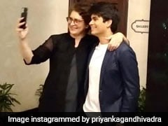 Priyanka Gandhi Vadra Is A Proud Mom At Son's First Photography Exhibition