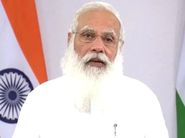 """Video : """"Saved Lives Of Lakhs"""" From Covid: PM Modi Praises Doctors' Contribution"""