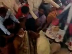 Watch: Stampede-Like Situation At Madhya Pradesh Vaccine Centre