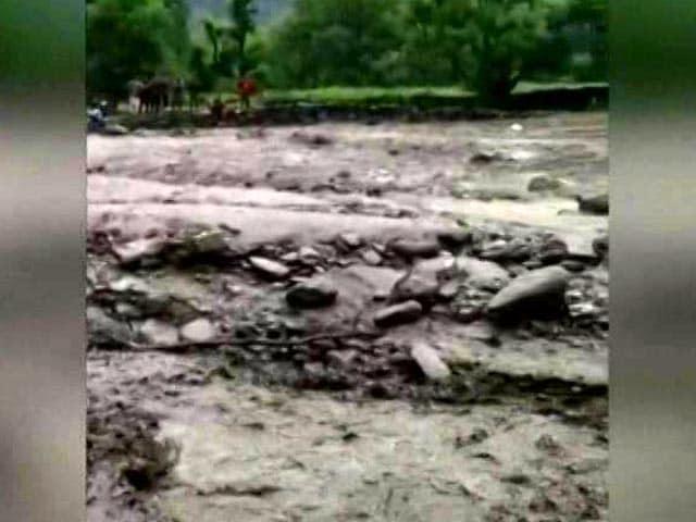 Video : 7 Dead, 20 Missing After Cloudburst Hits Village In J&K's Kishtwar