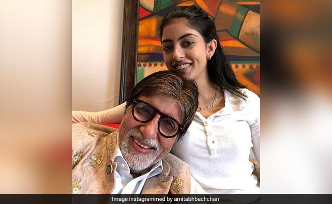 'You Make Us So Proud': Navya Naveli Nanda Is Going Places And Granddad Amitabh Bachchan Is A Fan