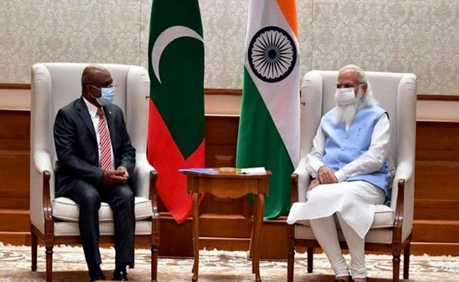 UN General Assembly President-Elect Abdulla Shahid Meets PM Modi