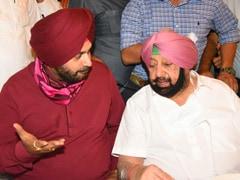 """Navjot Sidhu Barbs Don't Augur Well,"" Amarinder Singh Tells Sonia Gandhi"