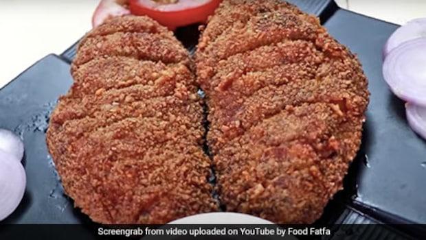 Watch: Eat The Crispiest Chicken Ever with This Fried Chicken Steak Recipe