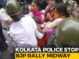 Video : BJP Workers Clash With Police During March Against Fake Vaccine In Kolkata