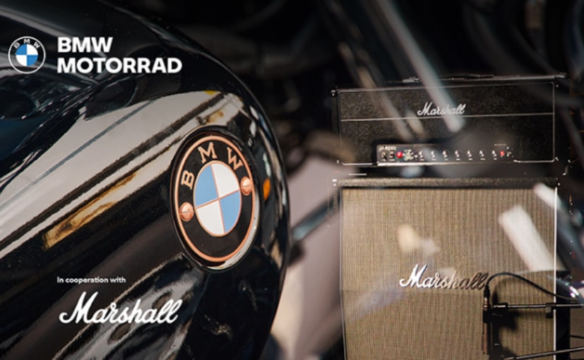 BMW Motorrad Teases R 18 Bagger; Announces Tie-Up With Marshall