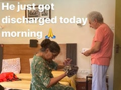 Naseeruddin Shah Discharged From The Hospital, Son Vivaan Shares Pics From Home