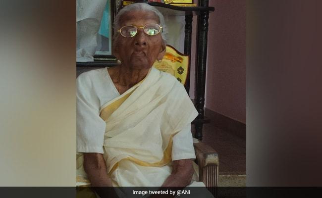 Kerala's 'Oldest Learner' Bhageerathi Amma Dies At 107