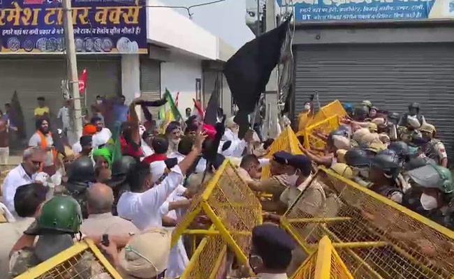 हरियाणा चंडीगढ़ में नहीं थम रहा किसानों का गुस्सा एक और मंत्री हुए इसके शिकार