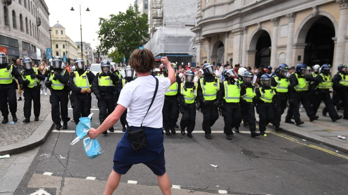 Euro 2020: Police Questions and World Cup Offers After Violent Wembley Scene |  Football news