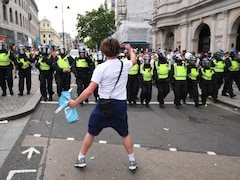 Euro 2020: Questions Over Policing And World Cup Bid After Violent Wembley Scenes