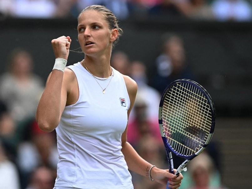 Wimbledon: Karolina Pliskova Beats Aryna Sabalenka To Reach Maiden Final