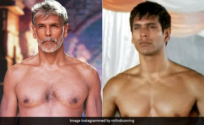 Milind Soman's Then And Now Post Prompts This Reaction From Anusha Dandekar: 'How Are You Even Human?'