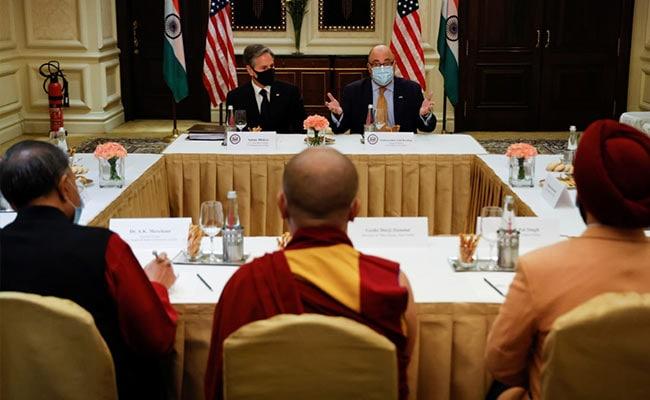 Risking China Anger, Blinken Meets Representative Of Dalai Lama In India