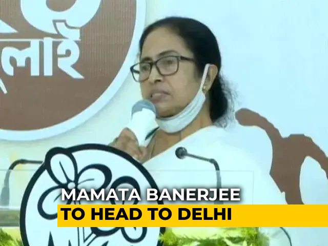 Video : Mamata Banerjee To Meet Cabinet Ministers On Monday Before Leaving For Delhi: Report