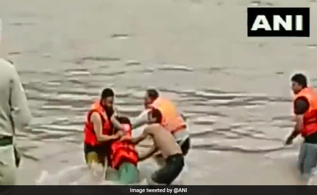 Girl Caught In Flash Flood Rescued In Jammu And Kashmir's Udhampur