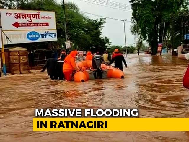 Video : Heavy Rain In Maharashtra Breaks 40-Year July Record, Navy Roped In