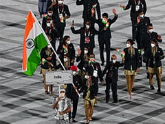 Watch: Indian Contingent Sparkles At Parade Of Nations In Tokyo Olympics Opening Ceremony