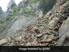 Uttarakhand's Gangotri National Highway Shut After Landslide, Heavy Rain