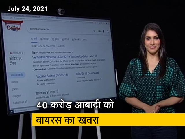 Videos : वैक्सीनेट इंडिया : देश के 40 करोड़ लोगों को कोविड-19 से सबसे ज्यादा खतरा
