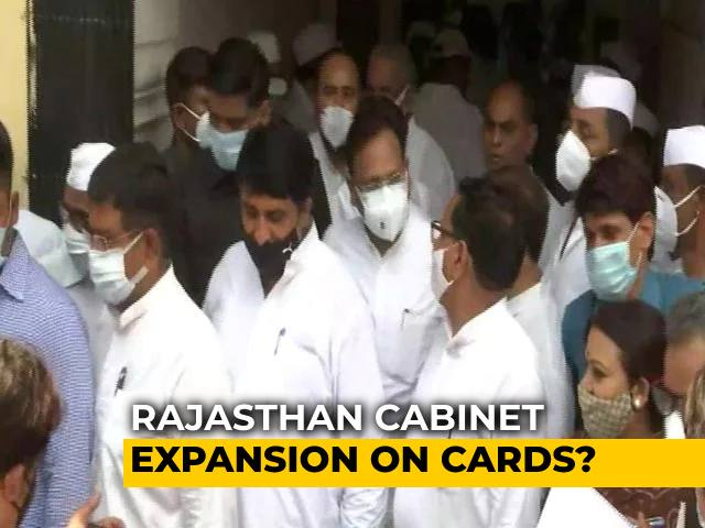 Video : Key Congress Meet In Rajasthan Amid Talks Of Cabinet Expansion