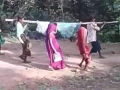 Watch: Pregnant Woman Carried Like This For 8 km In Madhya Pradesh
