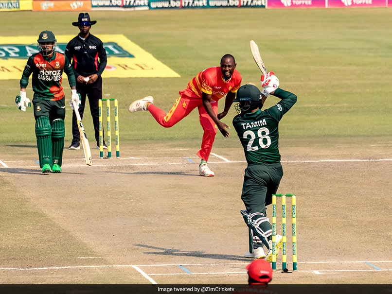 Zimbabwe vs Bangladesh, 3rd ODI: Tamim Iqbal Defies Pain To Set Up ODI Whitewash For Bangladesh