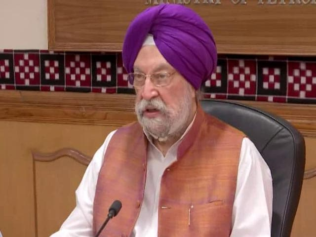 Video : Hardeep Singh Puri Takes Charge As Petroleum Minister