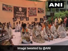 """Bengal BJP Leaders Protest Against """"Violence"""" Targeting Party Workers"""