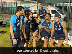 """Sri Lanka vs India: Yuzvendra Chahal Posts Team India's """"Gossip Time"""" Picture From Colombo"""