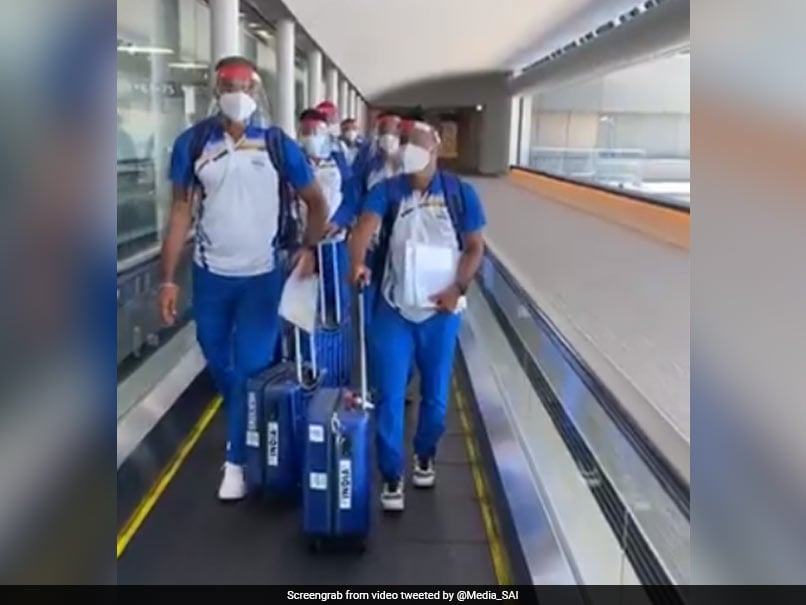 Photo of First Batch Of Indian Contingent Reaches Tokyo After Rousing Send-Off