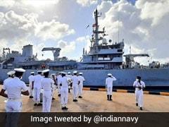Navy Ship Completes Safety Study Near Colombo Port