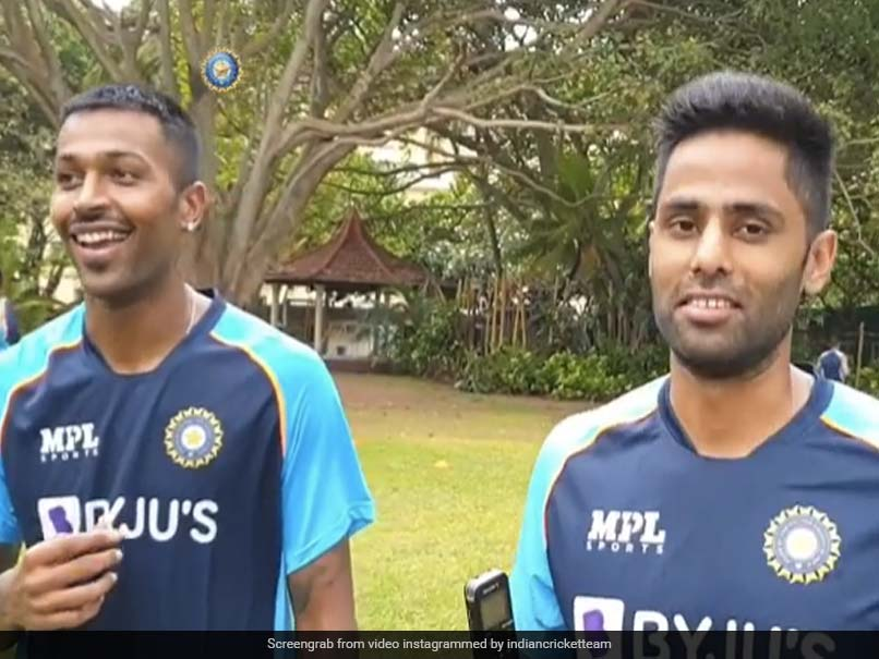 Watch: Team Indias Outdoor Session After Completing Quarantine In Sri Lanka