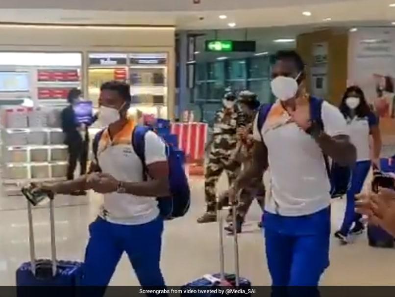 Watch: Indias Tokyo Olympics-Bound Athletes Receive Resounding Send-Off