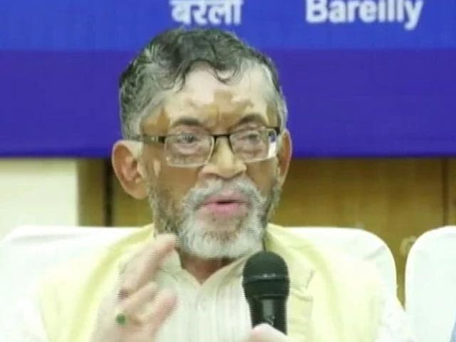 Video : Ministers Santosh Gangwar, Quit Ahead Of Cabinet Reshuffle