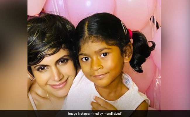 Mandira Bedi's Daughter Tara 'Wasn't Denied' Her First Birthday Celebration At Their Home. See Pic