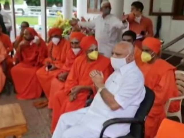 Video : Backing For BS Yediyurappa, Under Pressure; From Rivals Too