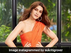 Orange Is The New Black For Kriti Sanon And Her Zesty And Bright Tangerine Dress