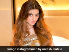 Dripping In Gold, Urvashi Rautela Is Taking Care Of Our Monday Blues
