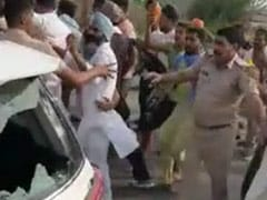 100 Farmers Face Sedition Case After Allegedly Attacking BJP Leader's Car