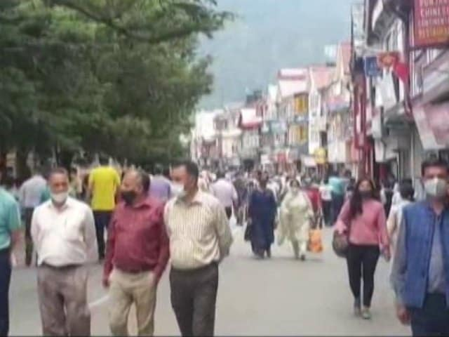 Video : Crowded Hill Stations Spark Fear Of Covid Surge