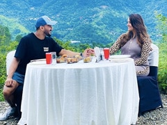 Anita Hassanandani And Rohit Reddy Had Breakfast With A View