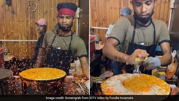 Watch: Indore's Unique Fire Dosa Is A Street-Style Delight We Want To Try