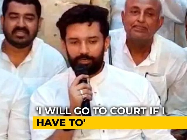 """Video : """"Only As Independent MP"""": Chirag Paswan On Uncle's Union Cabinet Chances"""