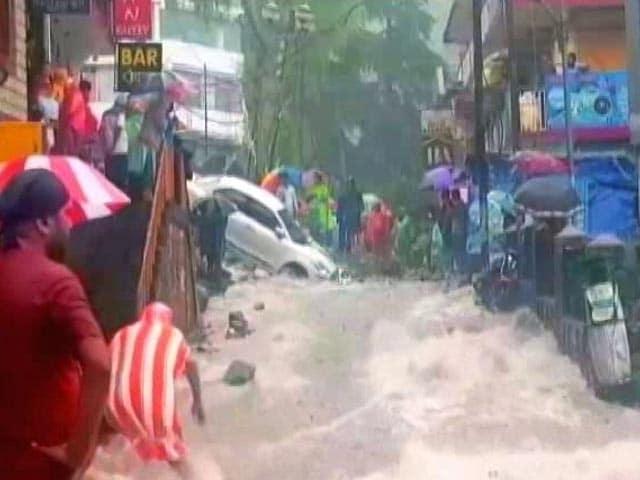 Video : Flash Flood Horror In Himachal's Dharamshala After Cloudburst