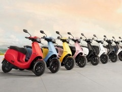 Ola Electric Scooter Colours Revealed