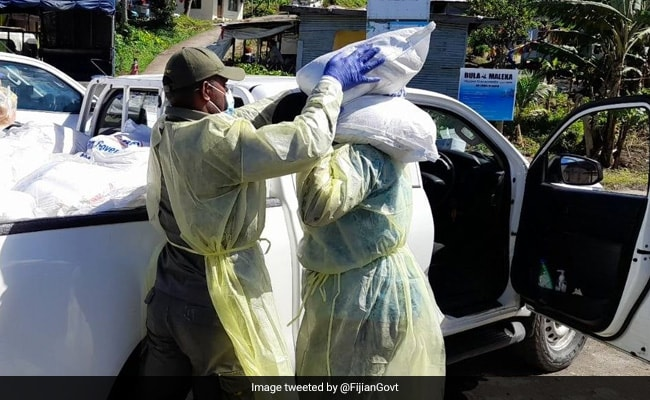 Fiji Police Deliver Groceries, Urge People To Stay Home As Delta Cases Rise
