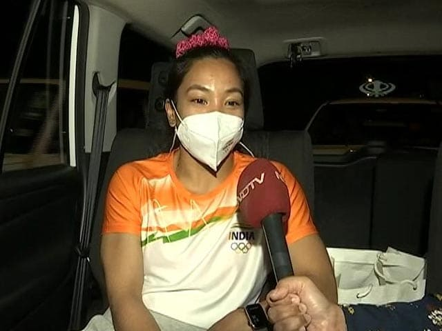 """Video : """"Didn't Eat For 2 Days"""": Olympic Star Mirabai Tells NDTV What It Took"""