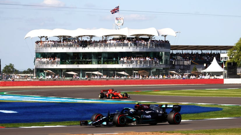 F1: Hamilton Wins Thriller At Silverstone As Verstappen Crashes Out